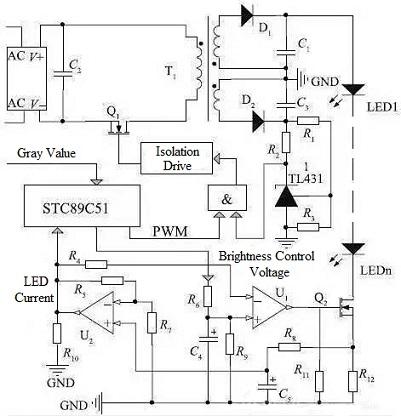 LED Driver Basics and Its Circuit Design | Tube Led Driver Wiring Diagram External |  | Apogeeweb