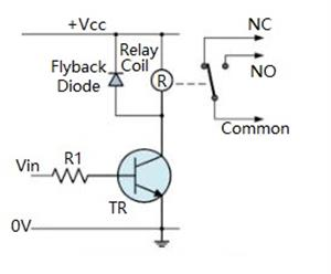 What Is A Flyback Diode or Freewheeling Diode and It's Applications
