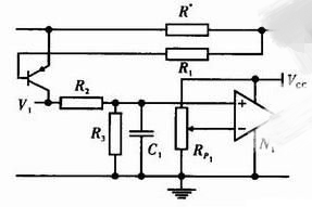 Current limiting circuit using base drive circuit