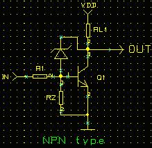 Practical NPN Switching Schematic Schematic (Diode-based Diode Clamp)--Transistor Switching Circuit Design and its theory