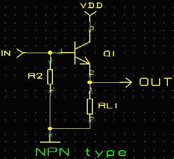 The actual circuit design--Transistor Switching Circuit Design and its theory