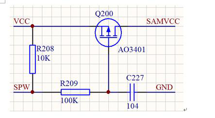 Via a IO pin to control the power--Transistor Switching Circuit Design and its theory
