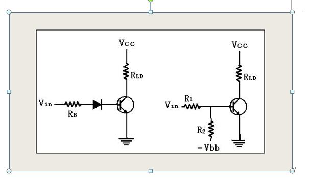 ensure the transistor switch action, the correct two modified circuit--Transistor Switching Circuit Design and its theory