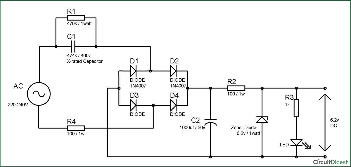 Circuit power supply