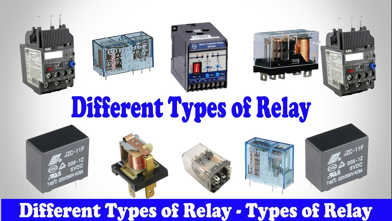 Basic Knowledge Of Relay Electronics Tutorial With Video Principle Working And Characteristics Electromagnetic
