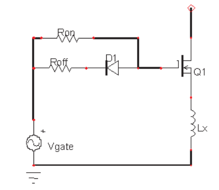 Gate Drive Circuit in Typical Hard-Switching Applications