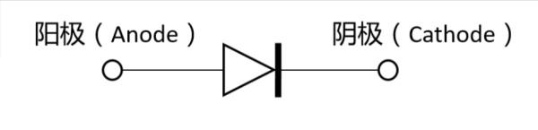 Diode circuit symbol