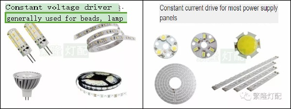 LED Driver Common Use Product Example Diagram