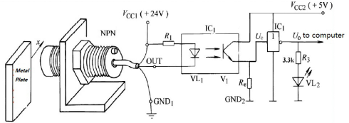 Internal circuit of DC Power Filter Internal circuit of DC Power Filter    Photoelectric Coupling Technology