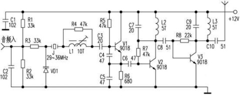 Figure 4 is a crystal oscillator circuit