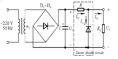 Figure 6 Simple R, D Zener Diode Circuit