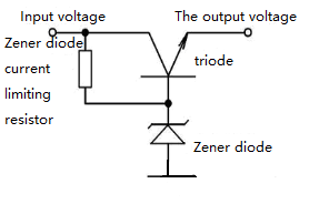 Figure 7 Zener diode circuit with current / power amplification