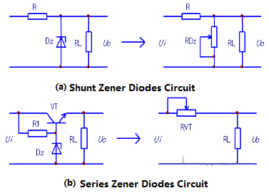 Figure 13 series, parallel regulator diode circuit