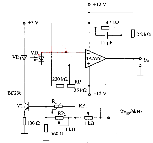 Thermistor Application Circuit (1)