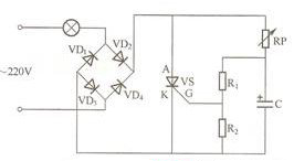 Figure 4 dimming table lamp circuit