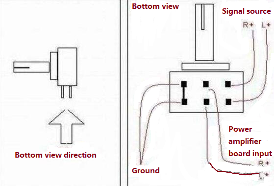 Potentiometer Connection Diagram