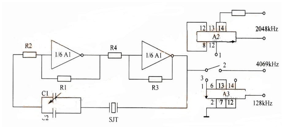 Crystal Oscillator Circuit Diagram (1)