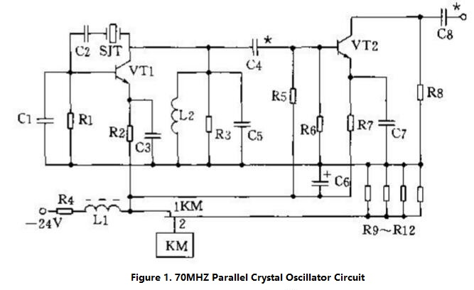 Crystal Oscillator Circuit Diagram (2)
