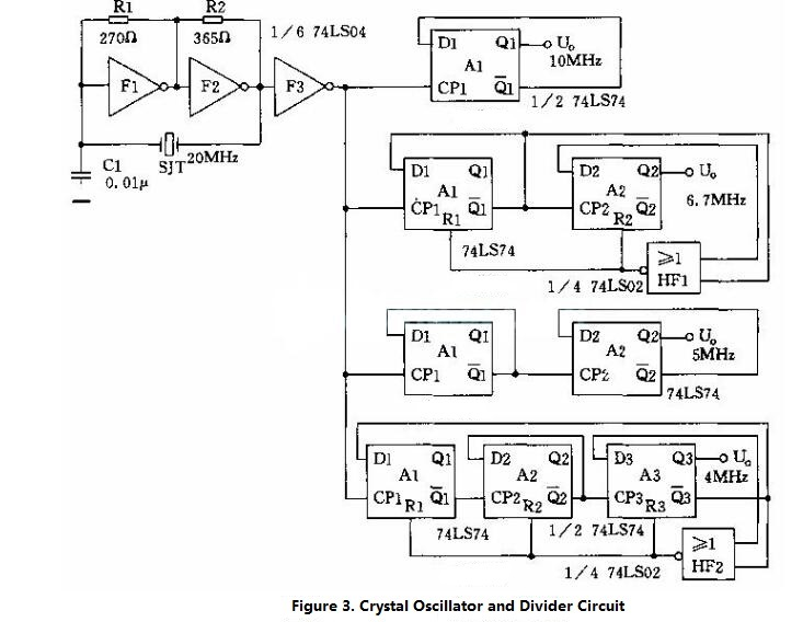 Crystal Oscillator Circuit Diagram (4)