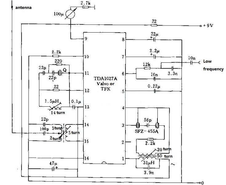 Crystal Oscillator Circuit Diagram (6)