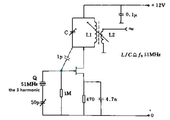Crystal Oscillator Circuit Diagram (8)