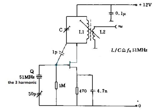 crystal oscillator circuit diagram (ten kinds of crystal oscillatorcrystal oscillator circuit diagram (8)