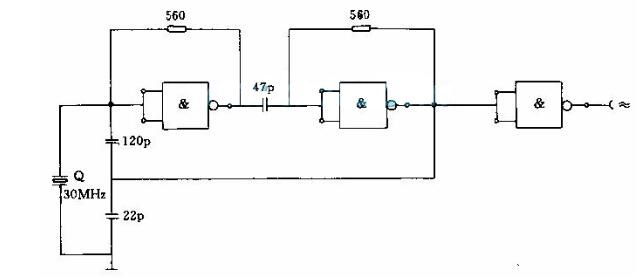 Crystal Oscillator Circuit Diagram (9)