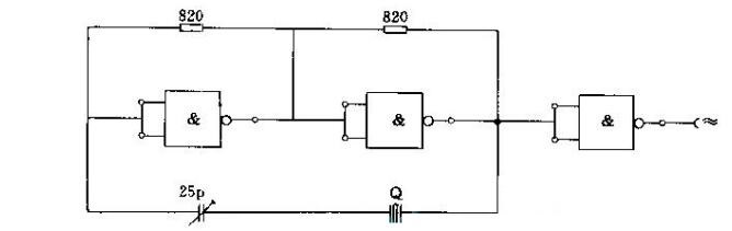 Crystal Oscillator Circuit Diagram (10)