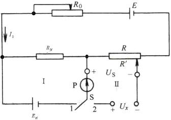 Principle Circuit of Constant Rheological Resistance Potentiometer