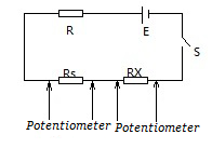 Potentiometer Measures Resistance