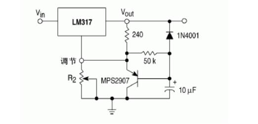 Figure 13. Soft Start Application Circuit Diagram