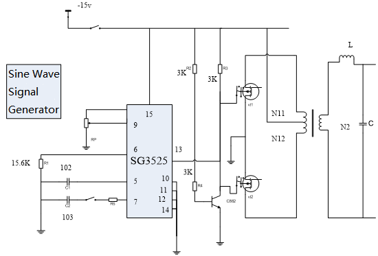 Figure 1-2 SPWM Inverter Circuit