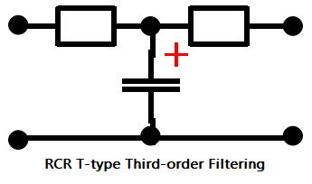 RCR T-type Third-order Filtering