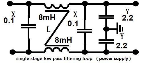 single stage low pass filtering loop