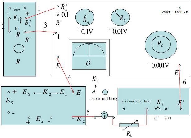 87-1 type potentiometer block diagram