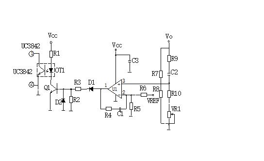 Schematic of Voltage Feedback Loop Circuit