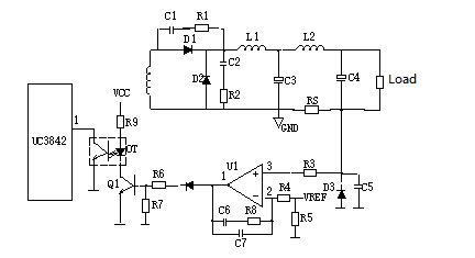 Output Current Limiting Protection Circuit