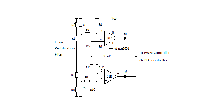 Input Over/Under Voltage Protection Circuit