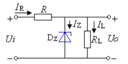 Typical regulation circuit