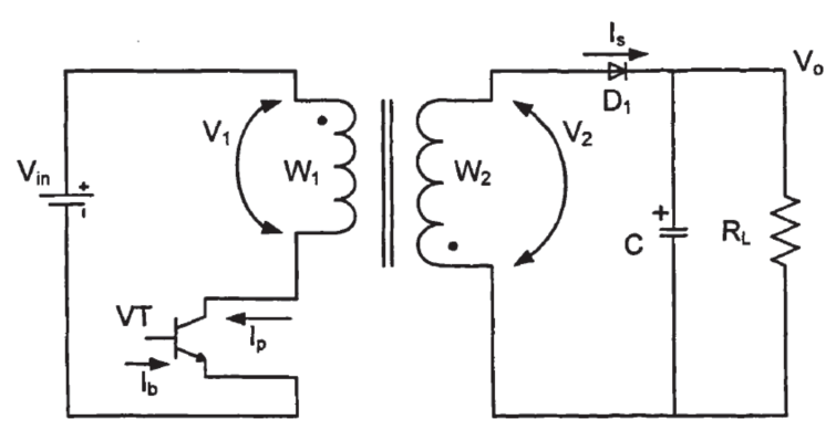 Figure 8. Basic Circuit of Flyback Converter