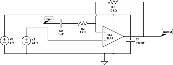 C1-A Coupling Capacitor  C2-A Decoupling Capacitor