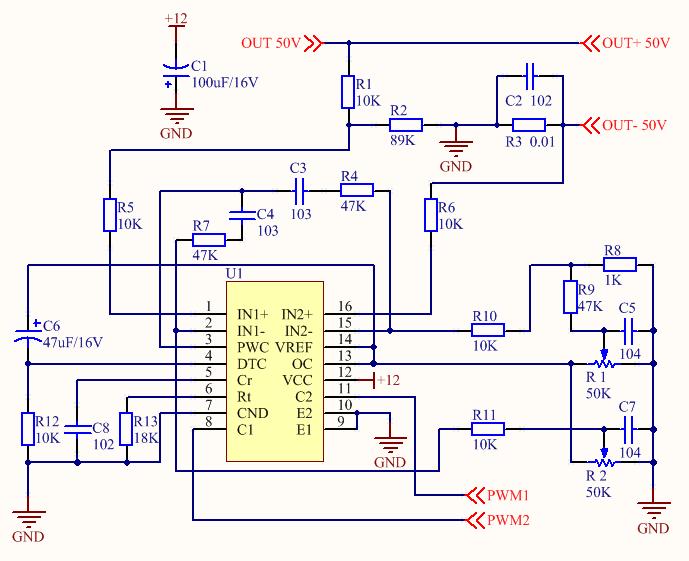 Figure 4. PWM Control Circuit