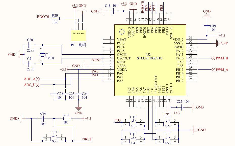 Figure 8. Main Control Circuit