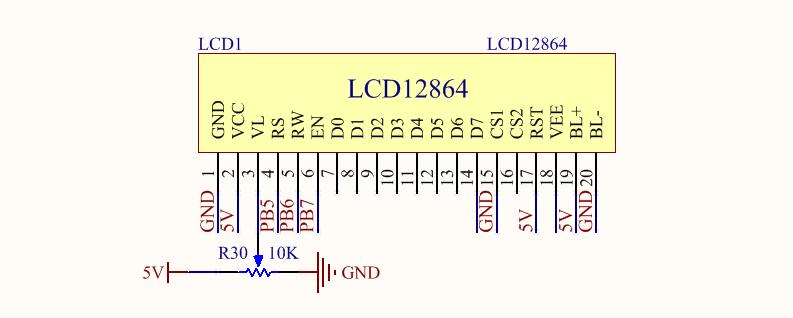 Figure 9. Liquid Crystal Display Circuit