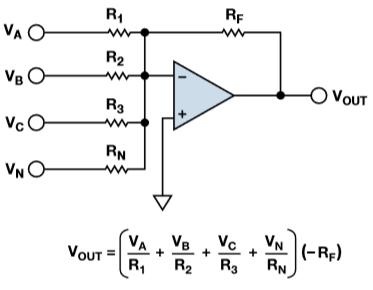 Voltage Adder circuit