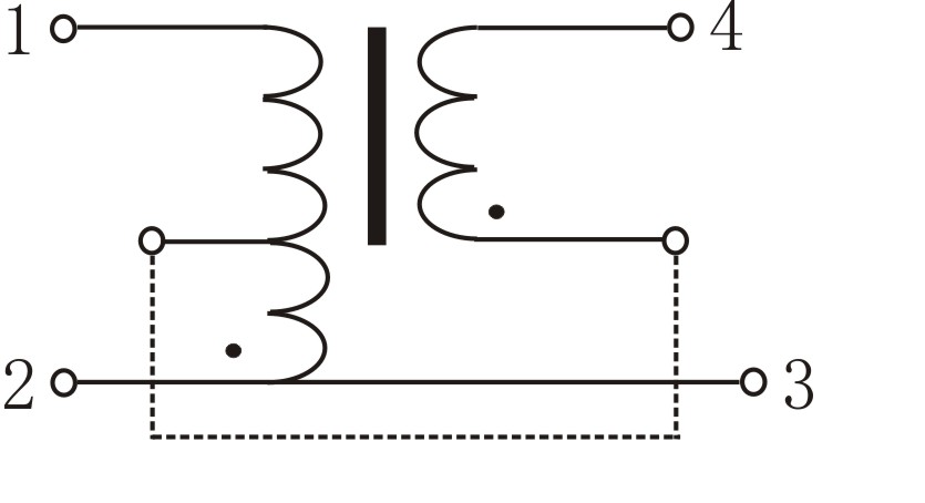 Figure 2. Electrical Schematic of Magnetic Flux Leakage Ballast