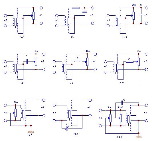 Figure 6. Zero Residual Voltage Compensation Circuit of Differential Transformer