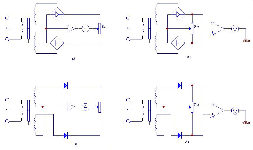 Figure 7. Differential Rectifier Circuit