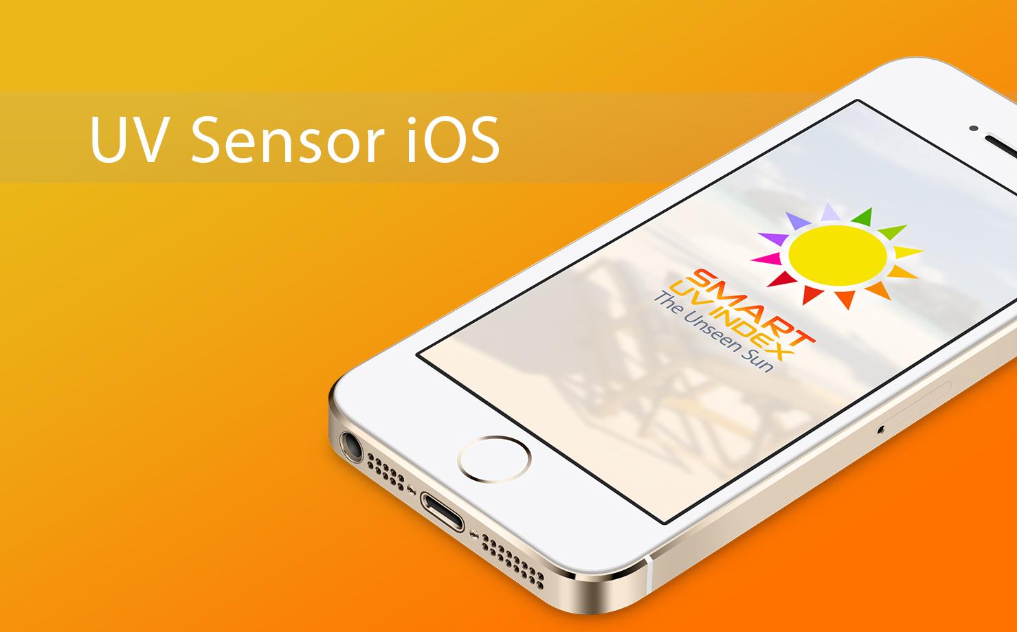 The use of UV sensor