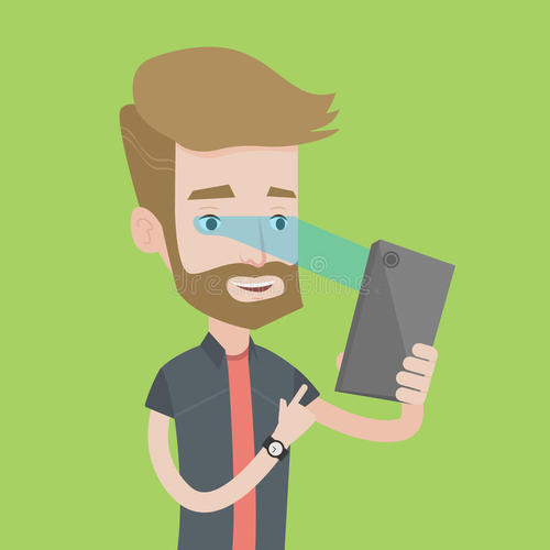 Iris recognition of mobile phone